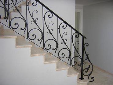 Barandas art sticas de hierro - Barandas de forja para escaleras ...